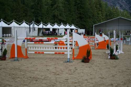 Jumps for show jumping events